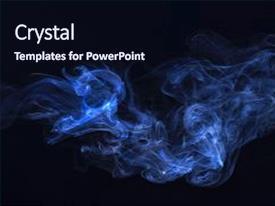 smoke powerpoint template
