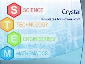 500 science technology engineering mathematics powerpoint templates presentation theme consisting of stem education background science technology background and a sky blue colored foreground toneelgroepblik Image collections