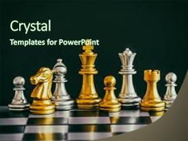 Cool new presentation theme with strategy chess battle intelligence challenge backdrop and a wine colored foreground.