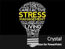 1000 Healthcare Stress Management Powerpoint Templates W