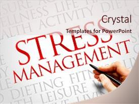 Top Stress Management Powerpoint Templates Backgrounds Slides And