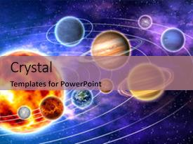 5000 solar system powerpoint templates w solar system themed