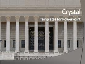 5000 roman architecture powerpoint templates w roman architecture cool new ppt layouts with style often used for government backdrop and a gray colored foreground toneelgroepblik Gallery