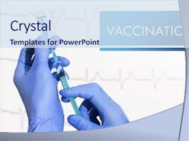 5000 vaccine powerpoint templates w vaccine themed backgrounds amazing ppt theme having vaccine syringe is filled with injection backdrop and a sky blue toneelgroepblik Images