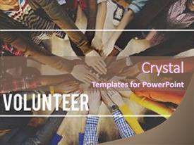 5000 volunteer powerpoint templates w volunteer themed backgrounds cool new ppt theme with teamwork voluntary ing aid toneelgroepblik