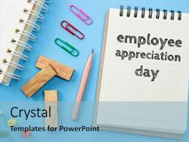 500 employee appreciation powerpoint templates w employee slide set having text employee appreciation day background and a colored foreground toneelgroepblik