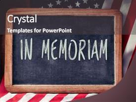 in memoriam powerpoint template