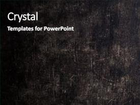 Amazing slide deck having textured wall with scratches weathered backdrop and a black colored foreground.