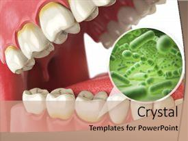 Hygiene powerpoint templates ppt themes with hygiene backgrounds beautiful slides featuring bacteria tooth dental hygiene medical backdrop and a coral colored foreground toneelgroepblik Image collections