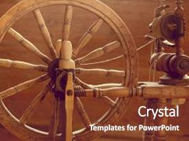5000 spinning wheel powerpoint templates w spinning wheel themed