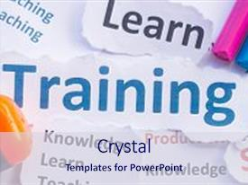5000 training powerpoint templates w training themed backgrounds slide deck enhanced with training banner training for learn background and a sky blue colored foreground toneelgroepblik Images