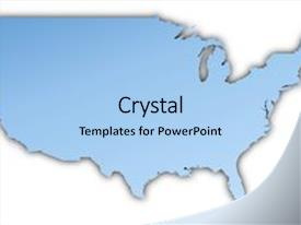 3000 white united states map powerpoint templates w white united