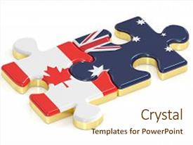 Top Canada Australia PowerPoint Templates, Backgrounds