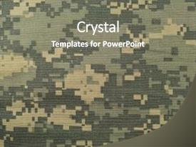 Military powerpoint templates ppt themes with military backgrounds slide deck featuring desert universal camouflage pattern army combat background and a gray colored foreground toneelgroepblik Choice Image