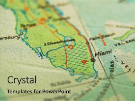 Map Miami Florida.500 Map Florida Powerpoint Templates W Map Florida Themed Backgrounds