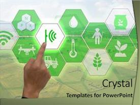 5000 sustainable agriculture powerpoint templates w sustainable ppt theme featuring agriculture use augmented reality technology background and a mint green colored foreground toneelgroepblik Gallery