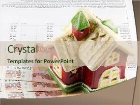 Housing utilities services powerpoint templates crystalgraphics ppt theme having utility receipt for utilities house background and a soft green colored foreground toneelgroepblik Choice Image