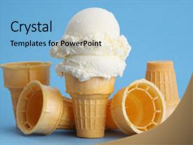 5000 ice cream cone powerpoint templates w ice cream cone themed