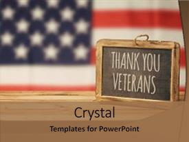 5000 veterans day powerpoint templates w veterans day themed slides enhanced with veterans day background with chalkboard background and a coral colored foreground toneelgroepblik Image collections
