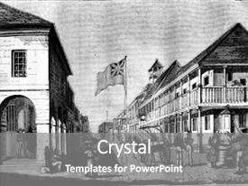 100 jamaica kingston powerpoint templates w jamaica kingston audience pleasing slide set consisting of view of kingston in jamaica backdrop and a gray colored toneelgroepblik Images