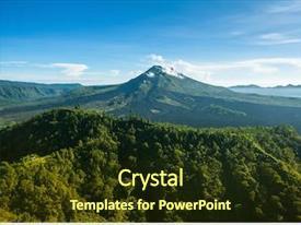 Gunung Powerpoint Templates W Gunung Themed Backgrounds