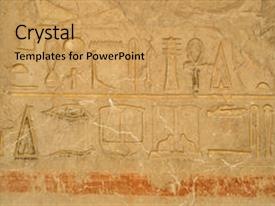 Top ancient egypt powerpoint templates backgrounds slides and ppt presentation enhanced with wall with egyptian hieroglyphic carving background and a yellow colored foreground toneelgroepblik Choice Image
