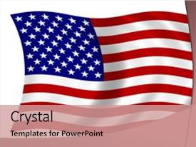 5000 american flag powerpoint templates w american flag themed audience pleasing theme consisting of waving american flag backdrop and a coral colored foreground toneelgroepblik Gallery