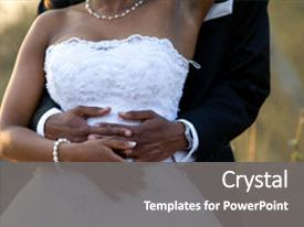 500 african american wedding powerpoint templates w african colorful ppt layouts enhanced with wedding newly wed african american couple holding each toneelgroepblik Gallery