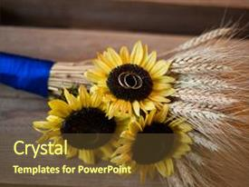 1000 sunflower wedding powerpoint templates w sunflower wedding