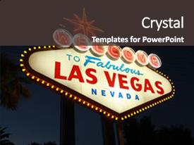 5000 las vegas powerpoint templates w las vegas themed backgrounds ppt layouts with welcome to las vegas neon background and a dark gray colored foreground toneelgroepblik Gallery