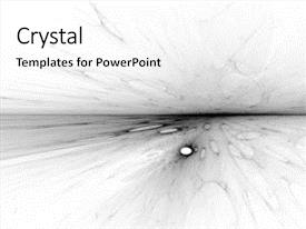 Quantum physics powerpoint templates crystalgraphics cool new slides with white 3d fractal landscape quantum backdrop and a white colored foreground toneelgroepblik Gallery