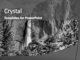 Cool new theme with white hdr of yosemite fall backdrop and a dark gray colored foreground.