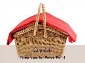 5000 picnic basket powerpoint templates w picnic basket themed