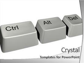 Windows xp powerpoint templates crystalgraphics theme with windows xp magical keys combination from many background and a white colored foreground toneelgroepblik Choice Image