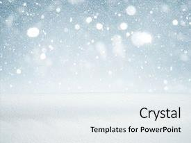 Cool new theme with winter background falling snow backdrop and a sky blue colored foreground.