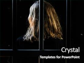 5000 jail powerpoint templates w jail themed backgrounds presentation having woman in a jail background and a black colored foreground toneelgroepblik