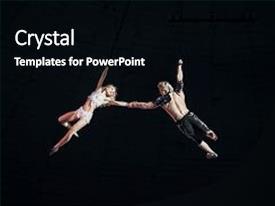 Beautiful PPT Theme Featuring Stunt