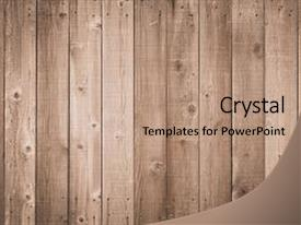 Brown powerpoint templates ppt themes with brown backgrounds ppt theme enhanced with wood fence brown wood background background and a coral colored foreground toneelgroepblik Images