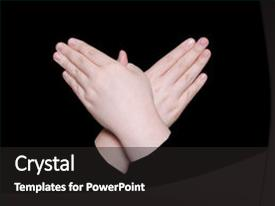 5000 sign language powerpoint templates w sign language themed presentation theme consisting of word butterfly in sign language background and a dark gray colored foreground toneelgroepblik Images