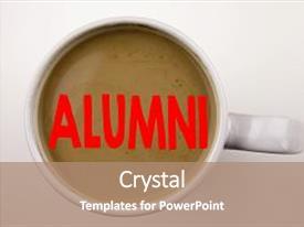 500+ alumni powerpoint templates w/ alumni-themed backgrounds, Powerpoint Student Presentation Template Brown, Presentation templates