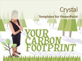 1000 Carbon Footprint Powerpoint Templates W Carbon Footprint
