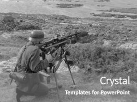 5000 World War Ii Powerpoint Templates W World War Ii Themed