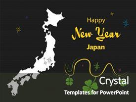 cool new slide set with japan themes year illustration theme with map backdrop and a