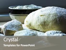 5000 yeast powerpoint templates w yeast themed backgrounds cool new slide deck with dough for baking batter backdrop and a gray toneelgroepblik Gallery
