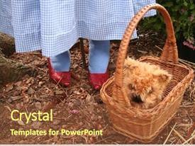 Wizard Oz Powerpoint Templates W Wizard Oz Themed Backgrounds