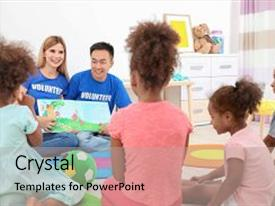 Volunteer powerpoint templates ppt themes with volunteer backgrounds ppt layouts consisting of light room volunteering abroad background and a light gray colored foreground toneelgroepblik Gallery