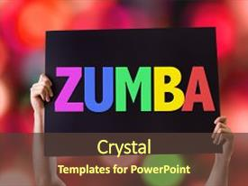 200 zumba powerpoint templates w zumba themed backgrounds audience pleasing presentation theme consisting of salsa card with bokeh background backdrop toneelgroepblik Gallery