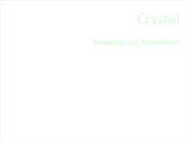 Crystal Template Layout Text