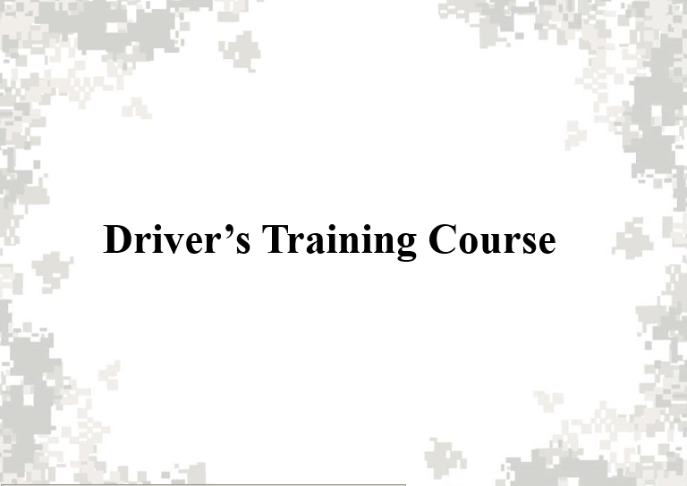 Drive Training