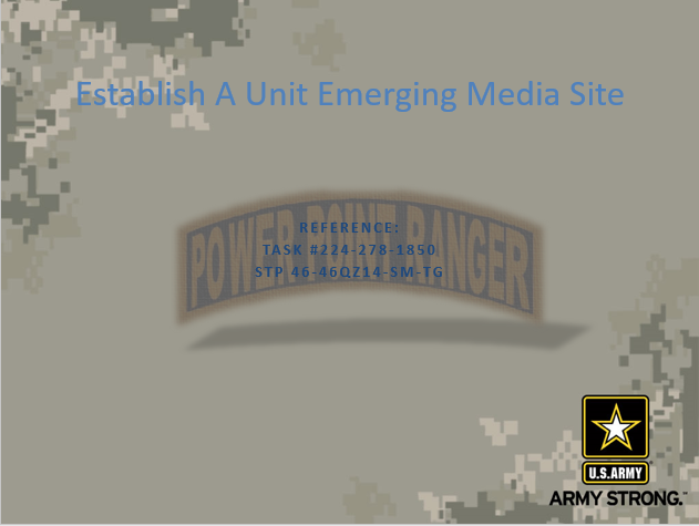 Miscellaneous PPT Classes, Miscellaneous, PowerPoint Ranger, Pre-made Military PPT Classes, PowerPoint Ranger, Pre-made Military PPT Classes